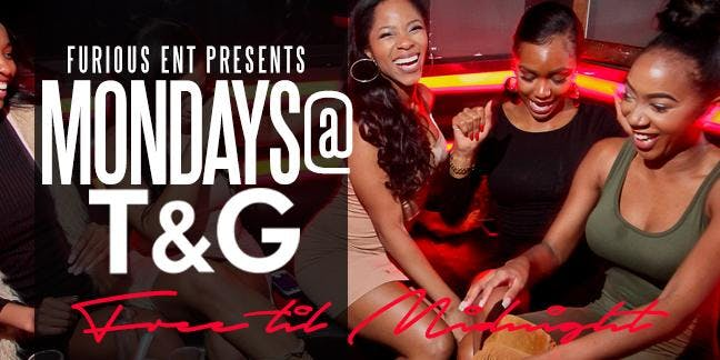 Vice Mondays at Tongue and Groove - RSVP HERE