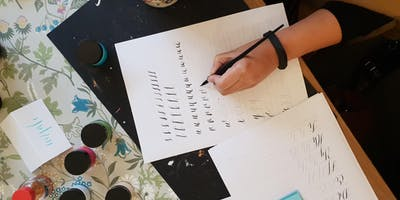 Modern Calligraphy Workshop at The Reclamation Rooms