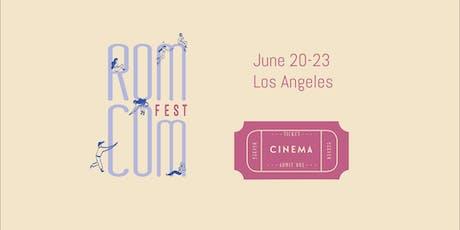Rom Com Fest Badges  + Ticket Packs tickets