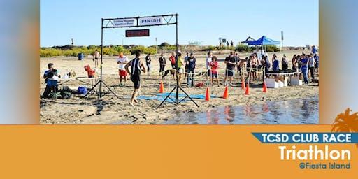 TCSD October Triathlon at Fiesta Island