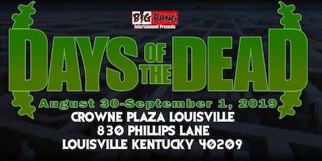 Days Of The Dead Louisville 2019 - Vendor Registration tickets