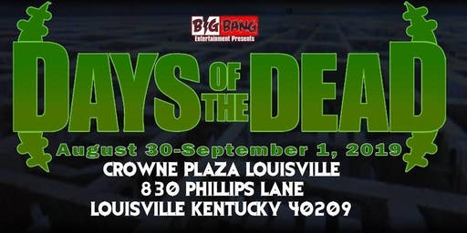 Days Of The Dead Louisville 2019 - Vendor Registration