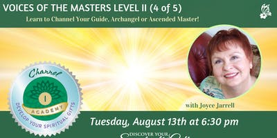 Voices of the Masters: Level II Channel Certification (4 of 5)