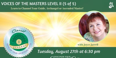 Voices of the Masters: Level II Channel Certification (5 of 5)