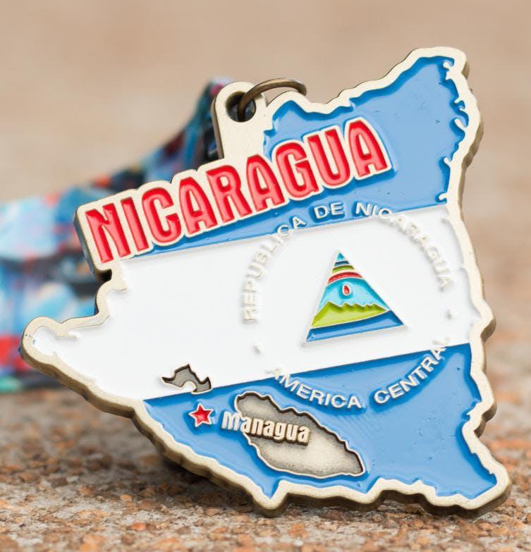 Now Only $10! Race Across Nicaragua 5K, 10K, 13.1, 26.2 -Eugene