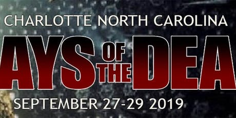 Days Of The Dead - Charlotte tickets