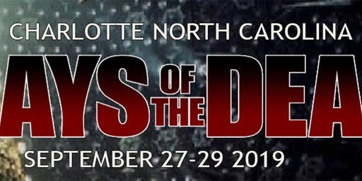 Days Of The Dead Charlotte 2019 - Vendor Registration