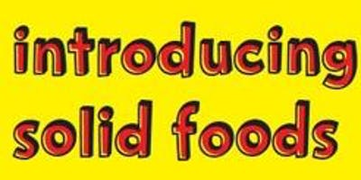 Introducing Solid Foods workshop - Hook
