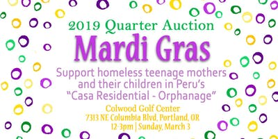 Mardi Gras Event! Support Homeless Teenage Mothers & Their Children in Peru