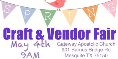 Spring Craft & Vendor Fair