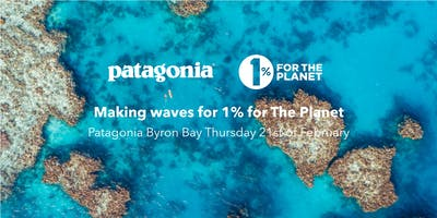 Making waves for 1% for the Planet