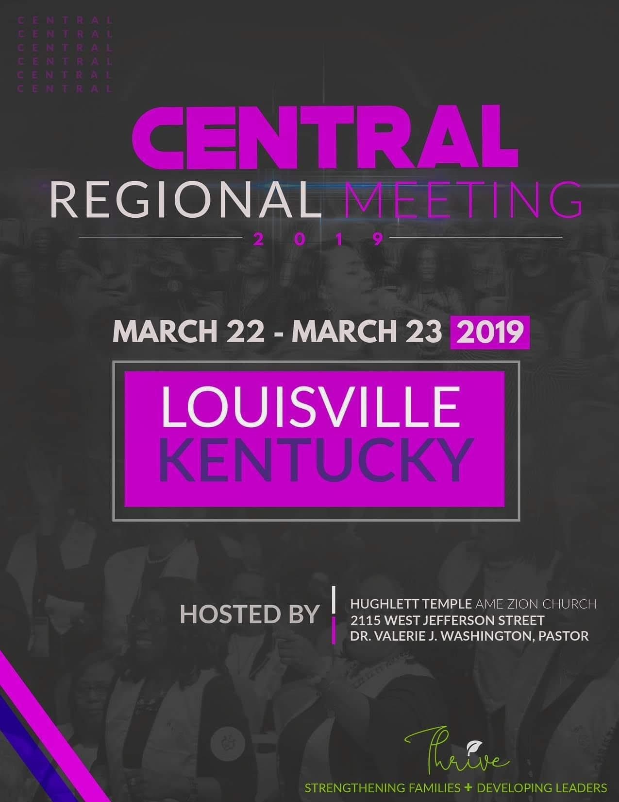 Central Regional Meeting 2019