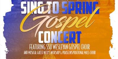 Sing to Spring Gospel Concert