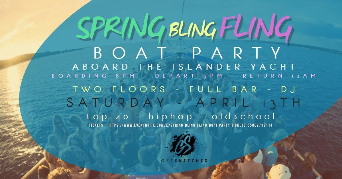 Spring Bling Fling Boat Party
