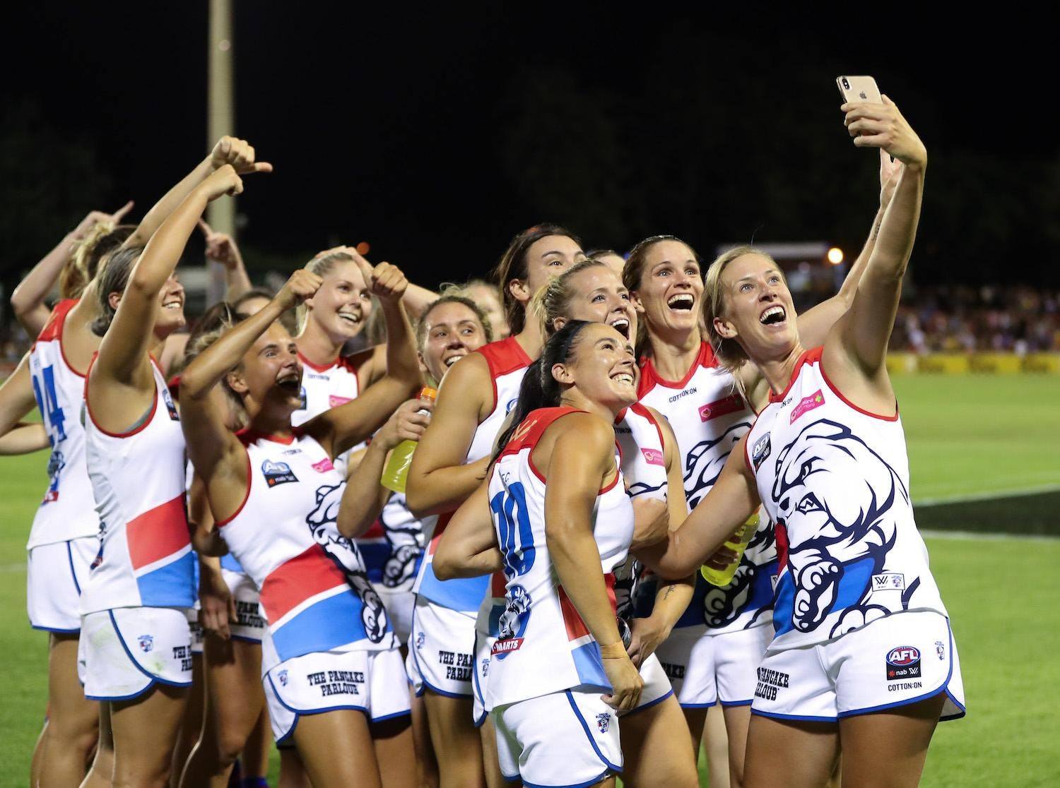 Aflw 30 Round 2 Western Bulldogs V Geelong Cats 9 Feb 2019