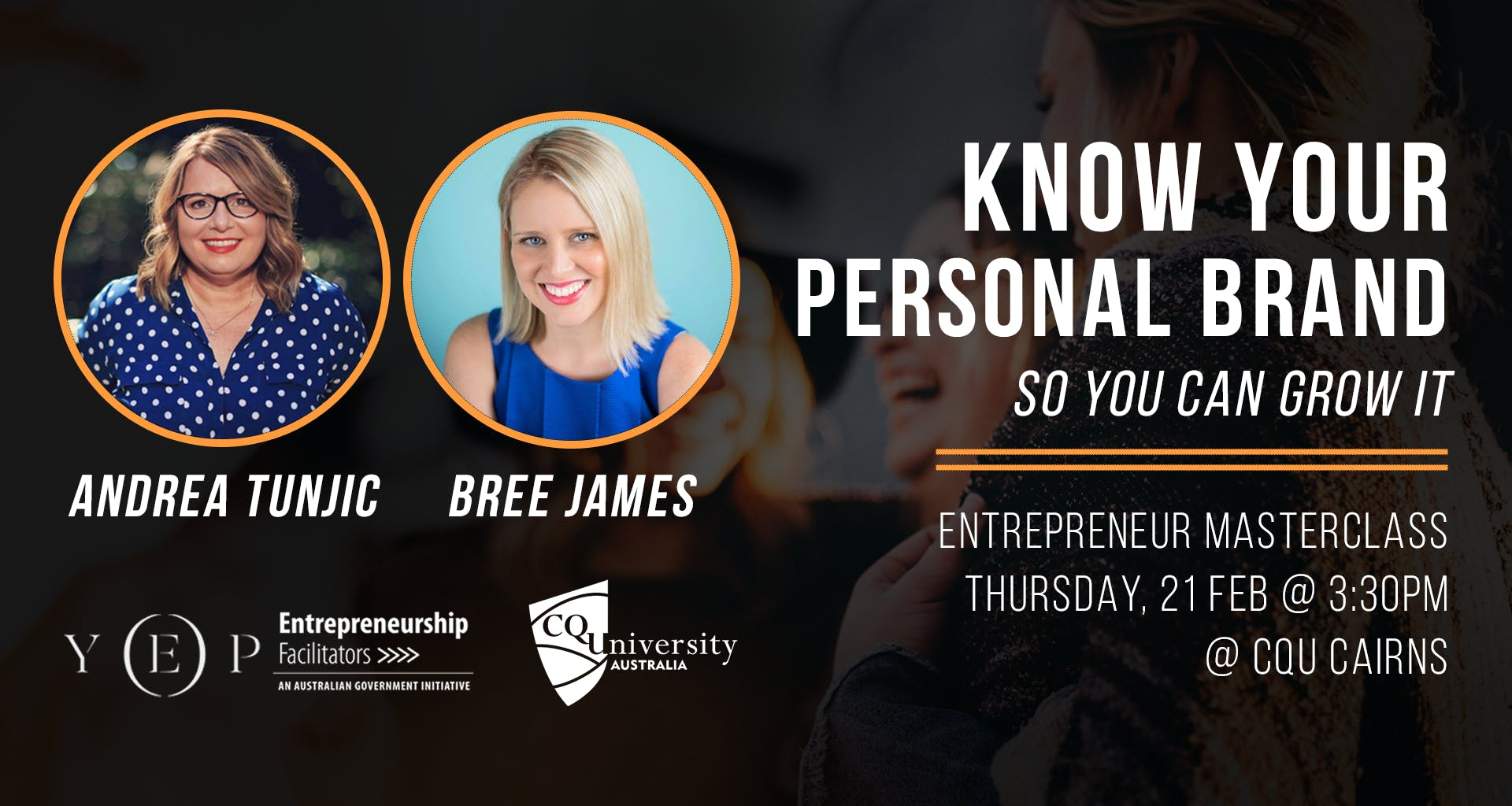 Know Your Personal Brand Masterclass with And