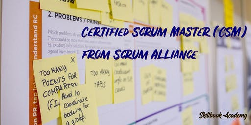 CSM® WATERLOO(Weekend)-July 20-21:Certified ScrumMaster from Scrum Alliance
