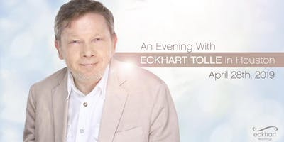 An Evening With Eckhart Tolle In Houston