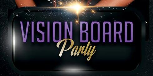 Vision Board Slumber Party