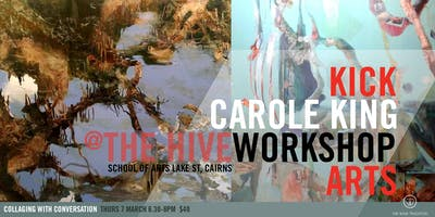 Collaging with Conversation | Arts Workshop with Carole King