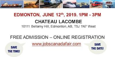 Edmonton Transportation Job Fair - June 12th, 2019