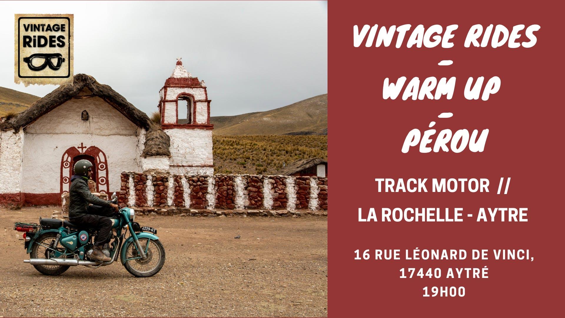 Warm up La Rochelle - Aytré // Track Motor :