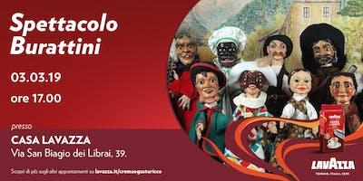 Spettacolo Burattini - I Giullari del 2000