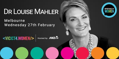 Importance of Women in IT February 2019 with Louise Mahler
