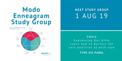 Enneagram Study Group - August 2019