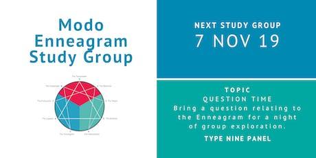 Enneagram Study Group - November 2019 tickets