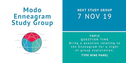 Enneagram Study Group - November 2019