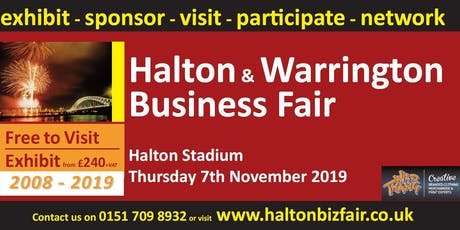 Halton and Warrington Business Fair 2019 tickets