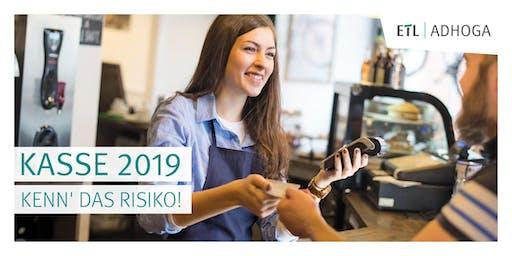 Kasse 2019 - Kenn' das Risiko! 10.09.19 Köln