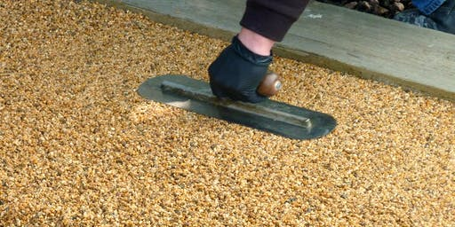 Resin bound paving, a SureSet Training Course