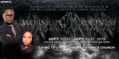 Worship Madness Prophetic Conference tickets