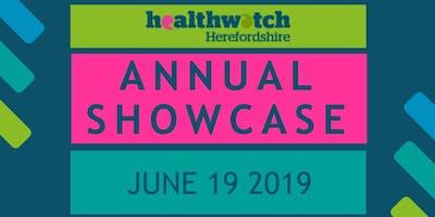 Healthwatch Annual Showcase 2019