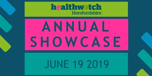 Healthwatch Annual Showcase 2019