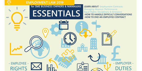 Employment Law: Essentials for SME Business Owners & Managers tickets