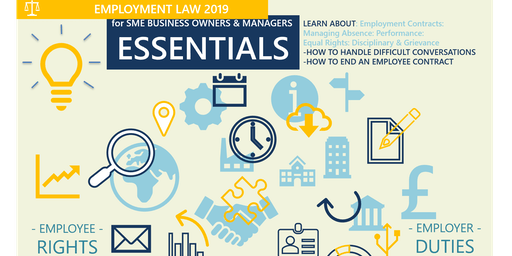 Employment Law: Essentials for SME Business Owners & Managers