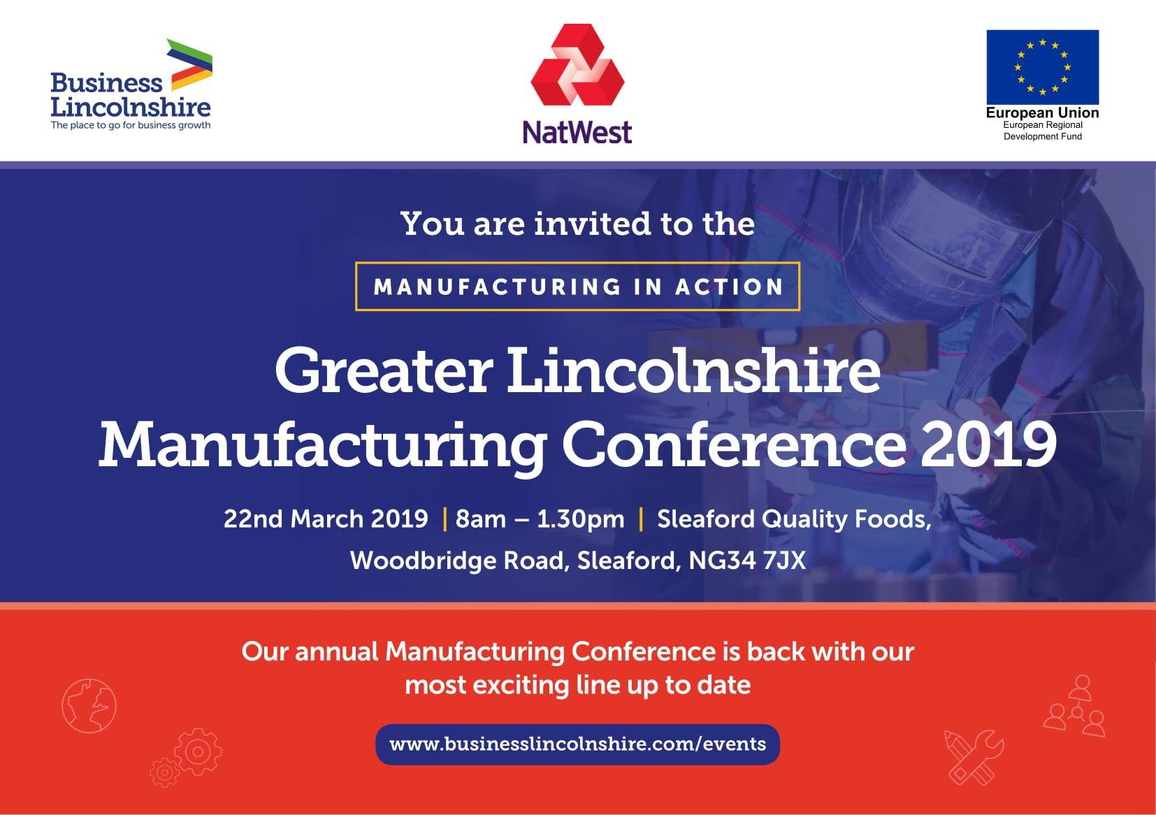 Greater Lincolnshire Manufacturing Conference