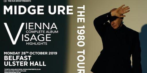 Midge Ure - The 1980 Tour, Vienna & Visage (Ulster Hall, Belfast)