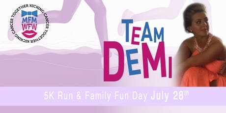 Miles For Men & Walk For Women 5K Charity Run For Demi & Family Fun Day tickets