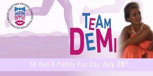 Miles For Men & Walk For Women 5K Charity Run For Demi & Family Fun Day