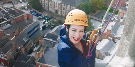 Derby Cathedral Abseil 2019 tickets