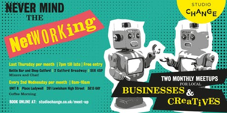 NMTN! - Coffee Morning - A Monthly Business Meet-up from the guys at Studio Change tickets