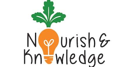 Nourish + Knowledge Luncheon tickets
