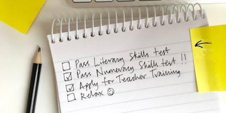 Literacy - QTS Skills Test Sessions tickets