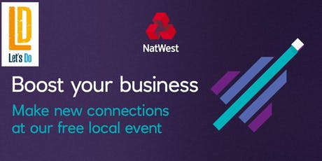 Let's Do Networking #NatWestBoost  tickets
