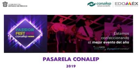Pasarela Conalep 2019 boletos