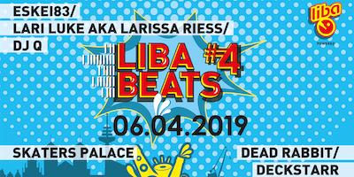 ***EarlyBirdTicket** LibaBeats#4: Eskei83 • Lari Luke aka Larissa Riess • Dead Rabbit (Marsimoto Crew / Green Berlin)